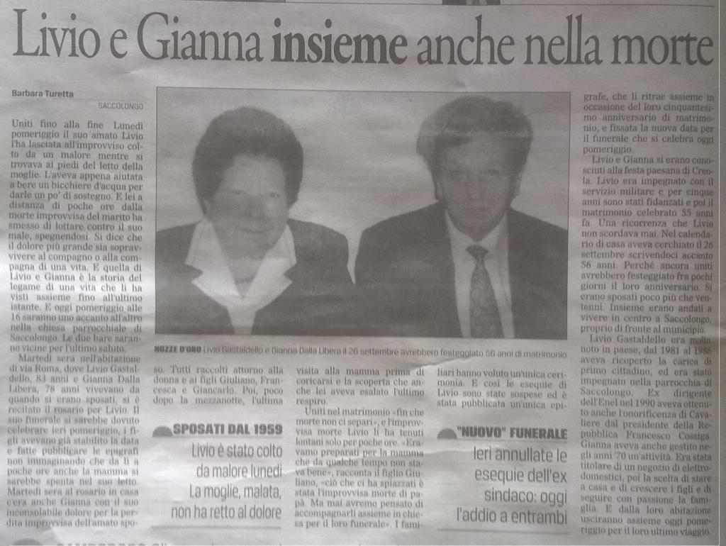 Livio e Gianna